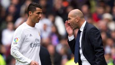 Zinedine Zidane Denies Ronaldo Rift After The Portuguese Questions Substitution