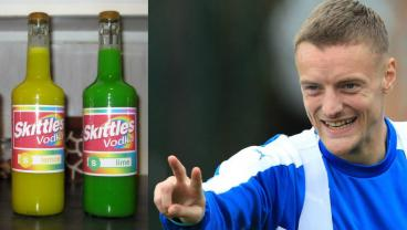 Belly Up To The Bar For A Jamie Vardy Skittles Vodka