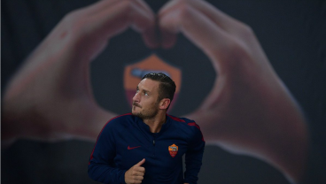 Francesco Totti Is 40 Years Old, But That Didn't Stop Him From Collecting Three Assists