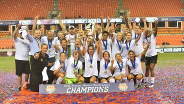 WNY Flash win the 2016 NWSL Final