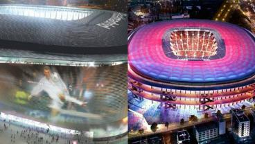 Anything You Can Do We Can Do Better: Real Madrid Announce Bernabeu Revamp