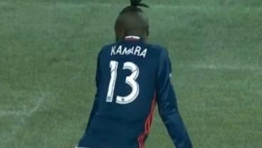 Kei Kamara twerking