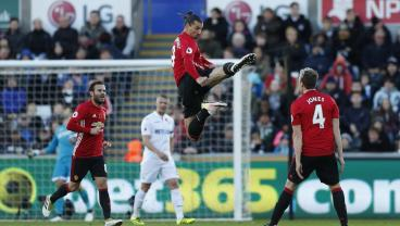 Zlatan 25,000th Goal In The Premier League