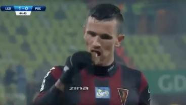 Polish Player Gets Struck By Chocolate Bar, Converts Penalty While Eating The Treat