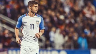 Christian Pulisic Starts For The USA vs. Mexico
