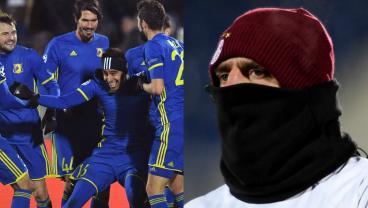 Bayern Munich Can't Do It On A Freezing Cold Night In Yaroslavl Oblast
