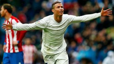 CR7 Is Going Ham On The Pitch, On Social Media Before El Clasico
