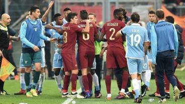 Roma defeated Lazio 2-0 in the Rome derby.