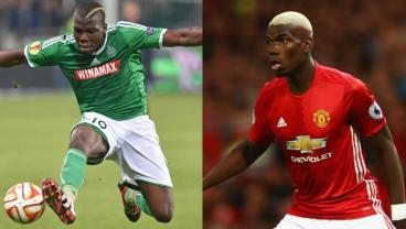 Paul and Florentin Pogba will battle in the Europa League.