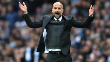 Pep Guardiola is under pressure at Manchester City.