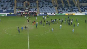 Coventry Fans Storm Pitch To Protest, Team Gives Up Last-Minute Goal After Restart