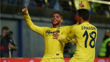 Jonathan dos Santos scored against Sporting Gijon.
