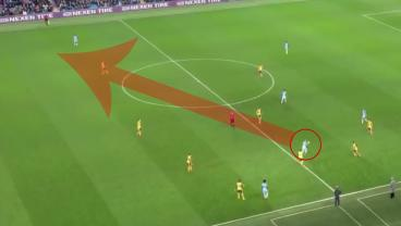 Kevin De Bruyne's No-Look, Cross-Field Volley Was The Best Assist Of The Season