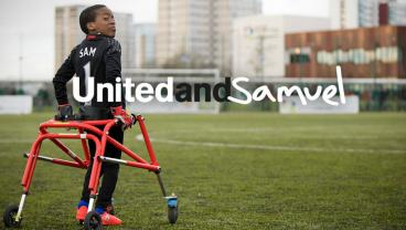 Man Utd Players Surprise Young GK With Cerebral Palsy In Inspiring Video