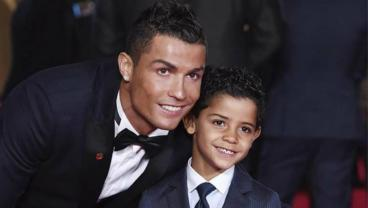 Cristiano's Son Has To Deal With The Messi-Ronaldo Rivalry Everyday At School
