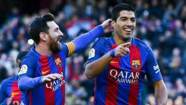 The Remarkable Numbers Behind Lionel Messi And Luis Suarez's Season