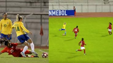 Brazil's Isabella Scores Goal Of The Tournament At South American U-20 Championship