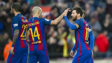 Lionel Messi Scores And Adds Two Assists In Barca's 5-2 Copa Del Rey Victory