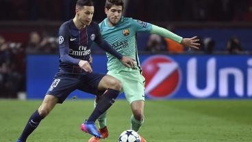 PSG Run Barca Ragged In First Half, Julian Draxler Adds A Second To Make It 2-0