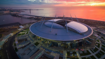 10 Years And $1.4 Billion Later, Zenit Arena Is Ready For The Confederations Cup