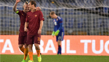 Roma Coach Luciano Spalletti Will Quit If Totti's Contract Isn't Renewed