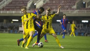 17-Year-Old Jordi Mboula Scores A Wonder Goal For Barca's U-19s