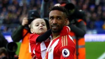 Terminally Ill Sunderland Fan Appears As Mascot For Sunderland vs. Everton