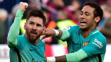Lionel Messi Scores A Late Winner To Lift Barcelona Over Atletico Madrid
