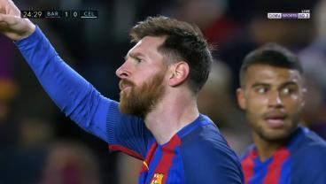 Watch Messi's Incredible Solo Goal Against Celta Vigo