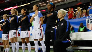 US Soccer Amends Rules To Require Standing During The National Anthem