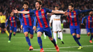 Barcelona Score 3 Goals In The Final 7 Minutes To Reach The Quarterfinals