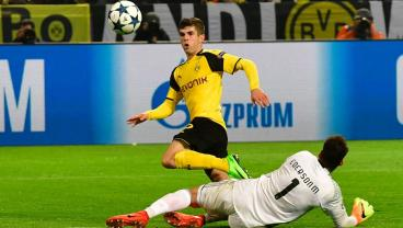 Christian Pulisic Eviscerates The Portuguese Champions To Send Dortmund Through