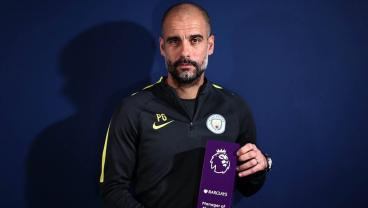 Pep Guardiola Is Disgusted At Receiving The EPL Manager Of The Month Award
