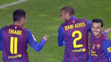 Thigao, Dani Alves and Pedro