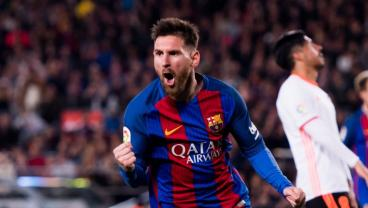 Lionel Messi Hits 40-Goal Mark For Barcelona For Eighth Straight Season