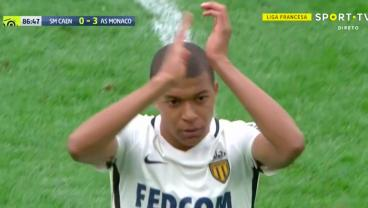 Caen Fans Give Monaco's Kylian Mbappe A Standing Ovation After He Tears Them Apart
