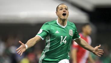 "Javier ""Chicharito"" Hernandez Equals Mexico's All-Time Scoring Record"