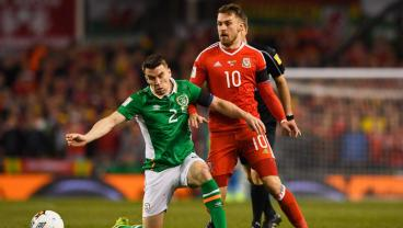 Ireland vs. Wales Qualifier Overshadowed By Horror Tackle On Irish Captain Seamus Coleman