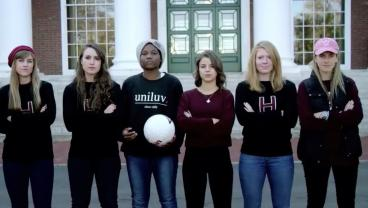 The Harvard Women's Soccer Team Delivers An Empowering Message In Lifetime Video