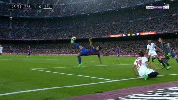 Luis Suarez Scored The Most Casual Bicycle Kick Ever