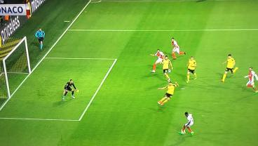 An Offside Goal And Comical Own Goal Put Monaco 2-0 Up On Dortmund