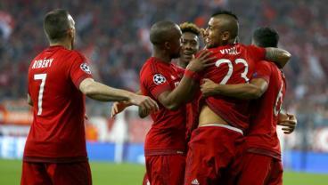 Arturo Vidal Header Gives Bayern The Lead Over Real Madrid