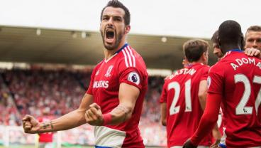 Alvaro Negredo Equalizer Against Arsenal Gives Hope To Middlesbrough