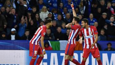 Atletico Madrid End Leicester City's Fairy Tale