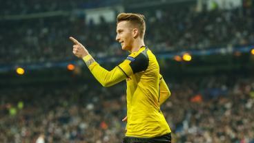 Marco Reus Scores Against Monaco