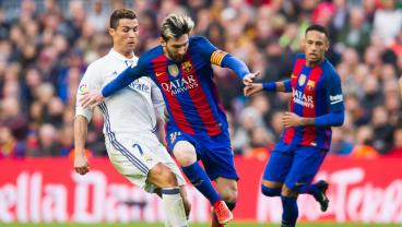 A Barcelona Fan And Real Madrid Fan Have It Out On El Clasico