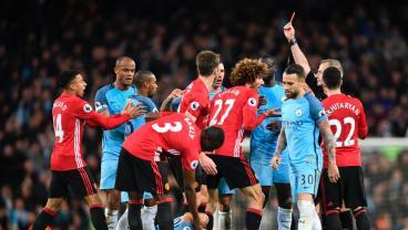 Jose Mourinho's Anti-Football Peaks With Oafish Marouane Fellaini Red Card