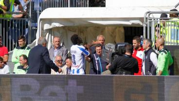 Sulley Muntari Walks Off Pitch After Being Booked For Reporting Racist Abuse