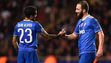 Juve's Dani Alves Eyes Fourth Champions League Title After Monaco Master Class