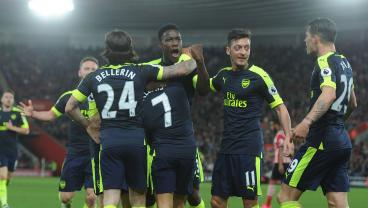 Arsenal Beat Southampton 2-0 To Take Them Into 4th Place Over Manchester United
